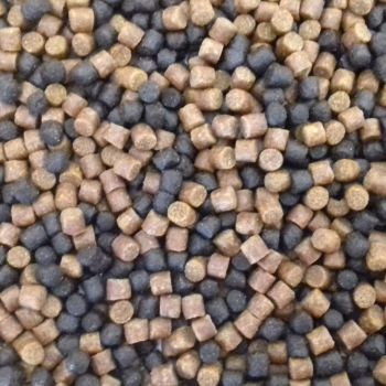 5kg Sealed Pack 4mm Dark Trout and Carp Coarse Sinking Feeder Pellets
