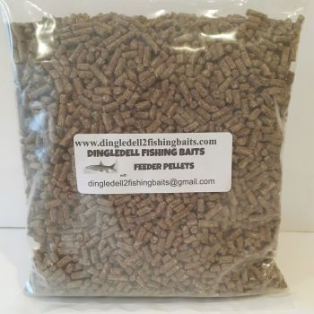 1kg Sealed Pack 4mm Hemp Feeder Pellets