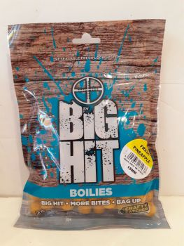 250 gram 15mm Big Hit Boilies Fresh Pineapple Flavour.