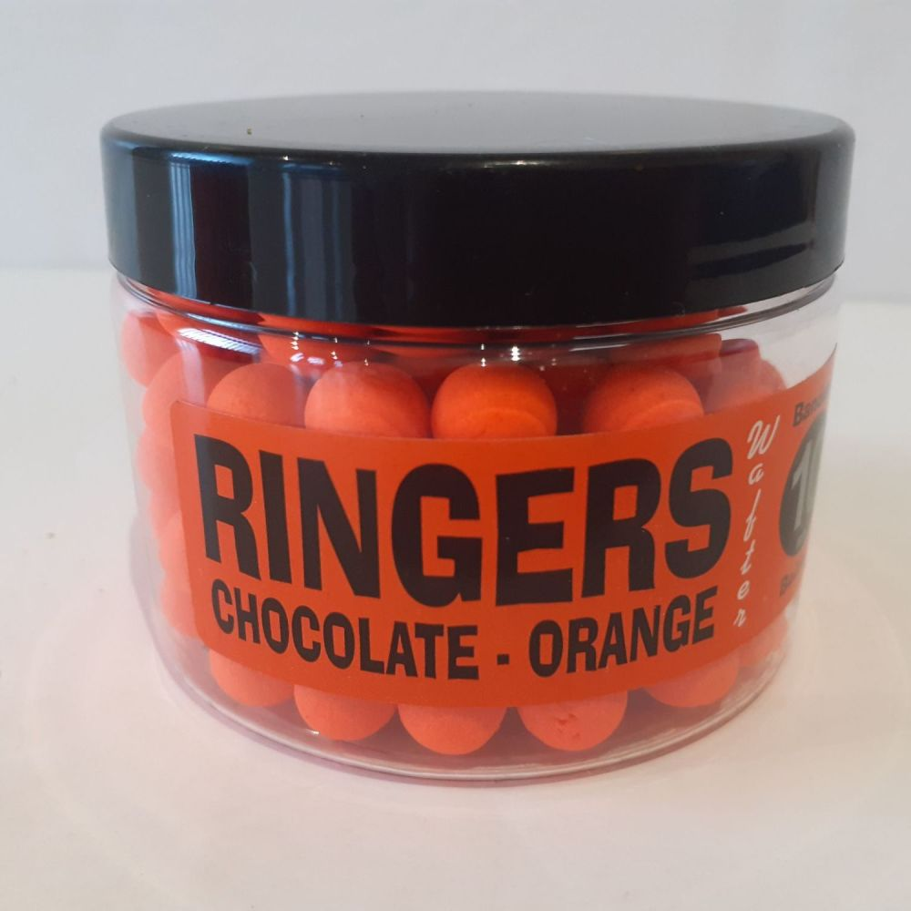 Ringers 10mm CHOCOLATE ORANGE  Boilies