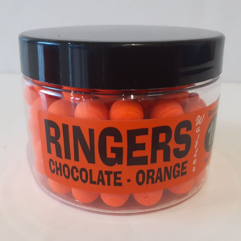 Ringers 10mm CHOCOLATE ORANGE  Small  Boilies