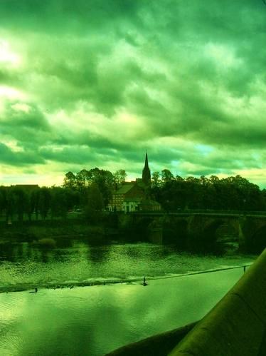 chester dark river scene