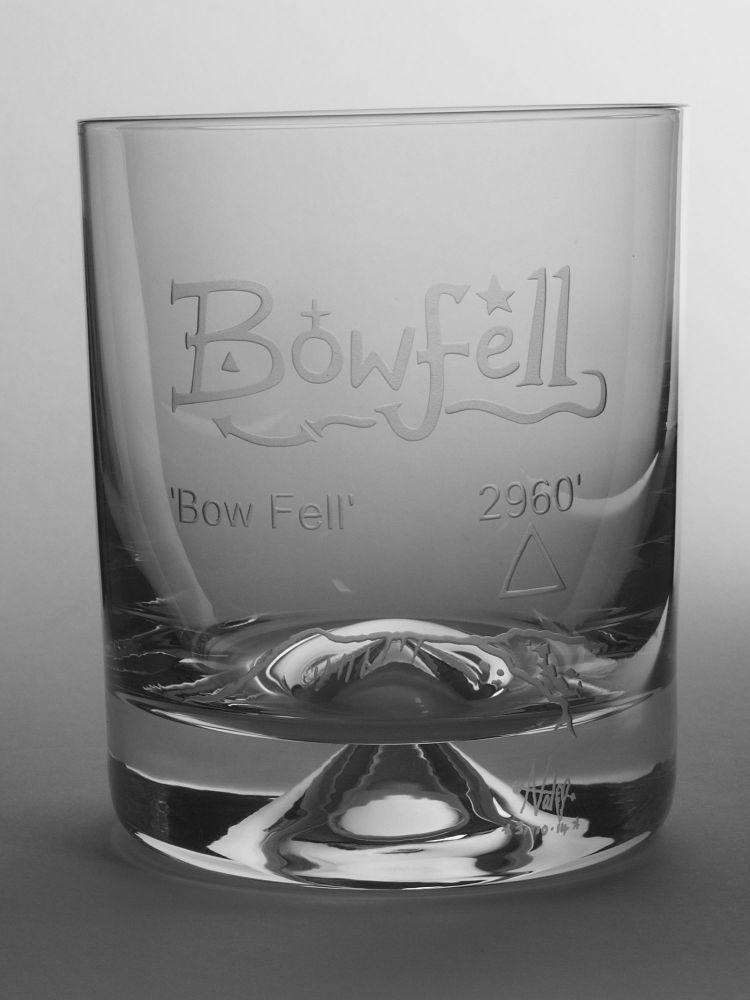 Bowfell  Dimple Base Whisky Tumbler