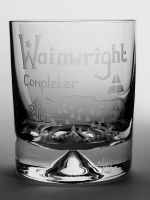 The Wainwright 214 Completer Dimple Base Whisky Tumbler