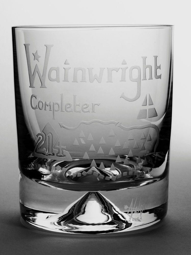 The Wainwright 214 Completer Wide Base Whisky Tumbler