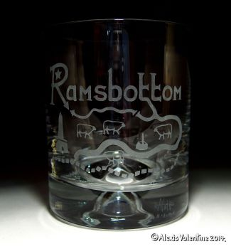 Ramsbottom Dimple Base Whisky Tumbler