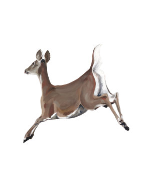 Leaping Deer PRINT