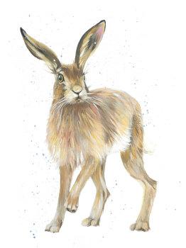 Hansel- Hare Print
