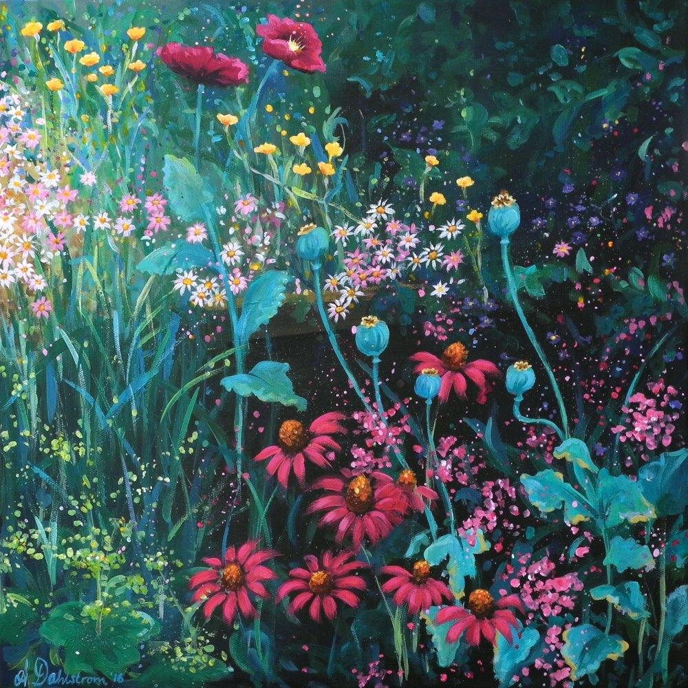 Flowerscape No. 1 Card