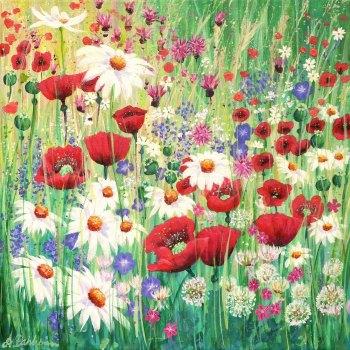 Flowerscape No. 3 Card