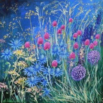 Flowerscape No. 4 Card