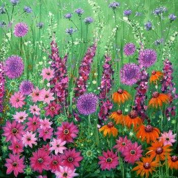 Flowerscape No. 5 Card