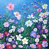 Flowerscape No. 7 Card