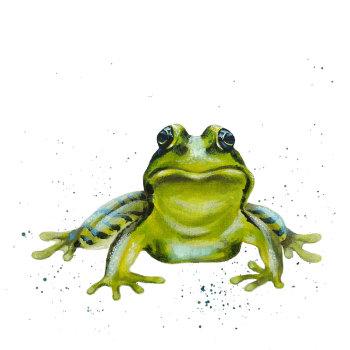 Frog Mini Print