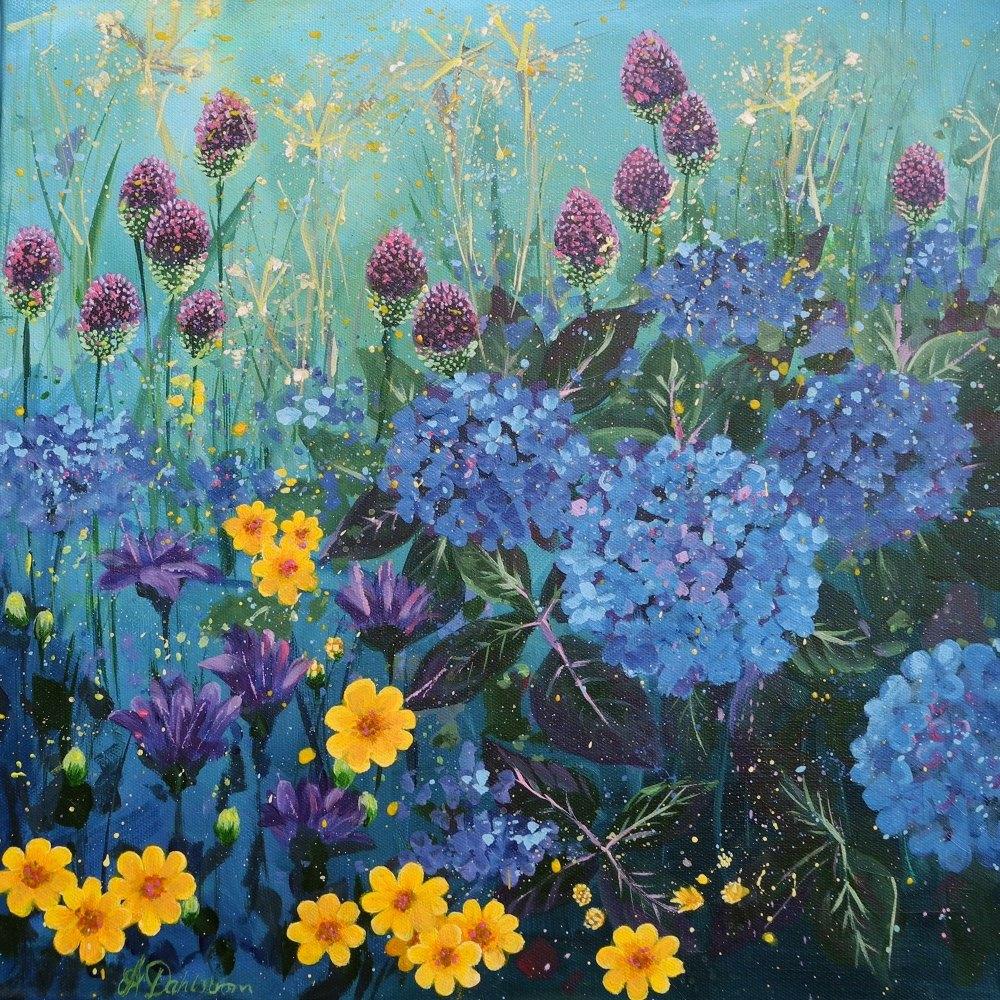 Flowerscape 10- Hydrangeas