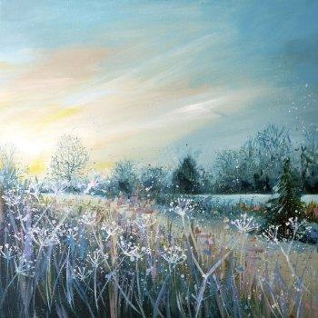 WINTERSCAPE 3- Country Walk Print