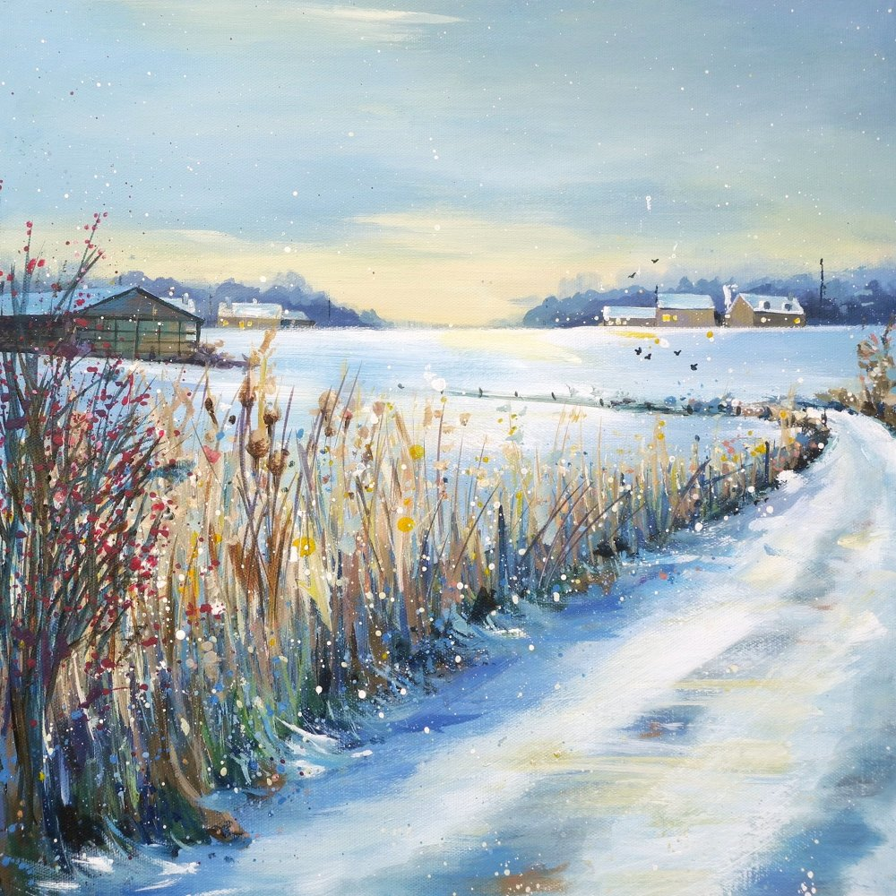 Winterscape 2- Cotswold Chill