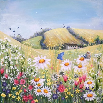 Ridgeway Meadow Mini Print