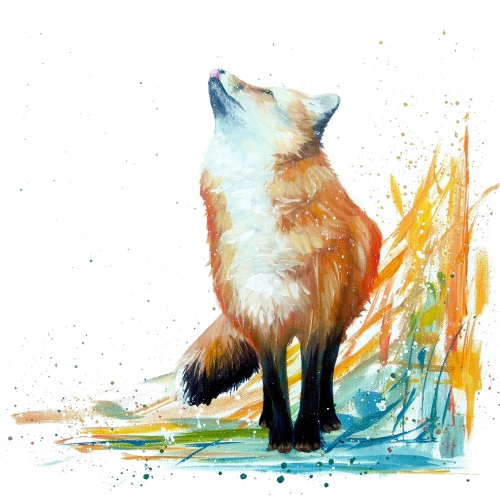 First Snow- Felix Fox