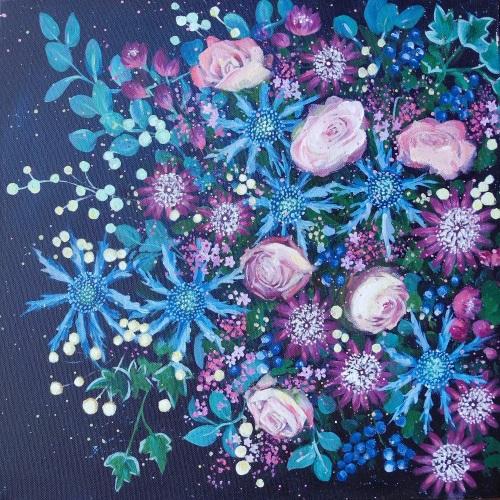 Seasonalscape 1- The Blue One