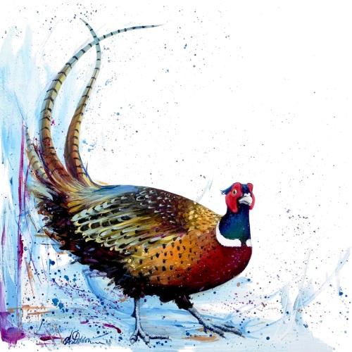 Geoff- Pheasant CARD