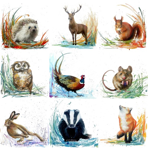 Woodland Friends- MULTIPACK CARDS