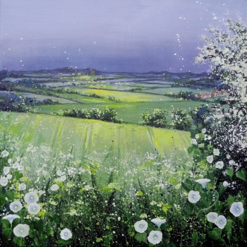 SPRINGSCAPE- Faringdon from the Ridgeway ORIGINAL