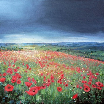SPRINGSCAPE- Faringdon Poppies ORIGINAL