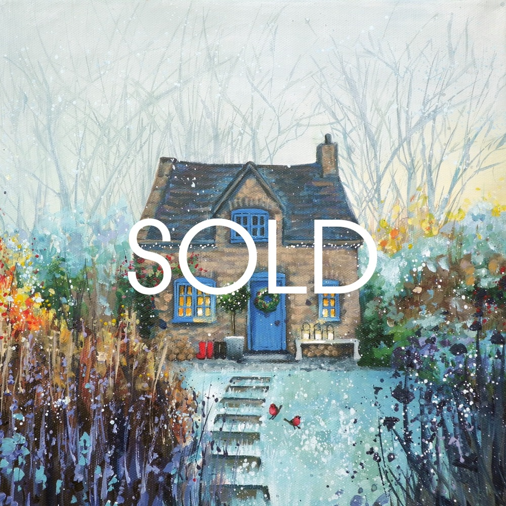 Christmas Cottage- SOLD
