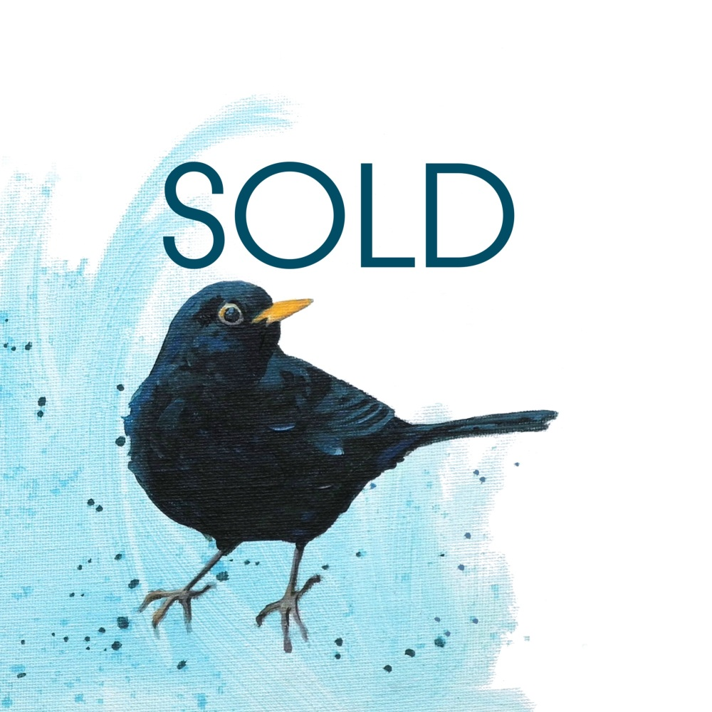 SOLD- Blackbird