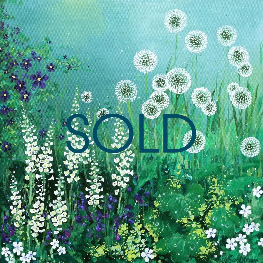 Flowerscape No. 8- SOLD