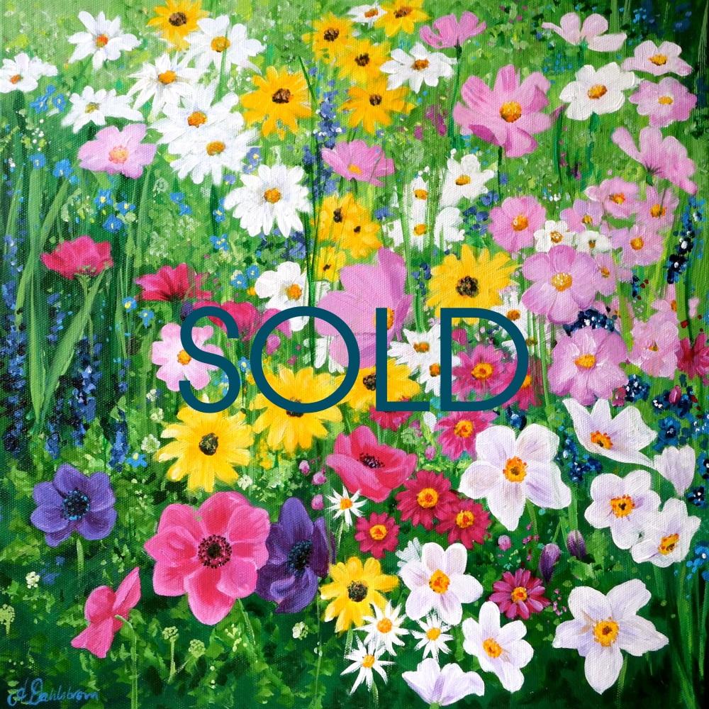SOLD- Flowerscape No. 6