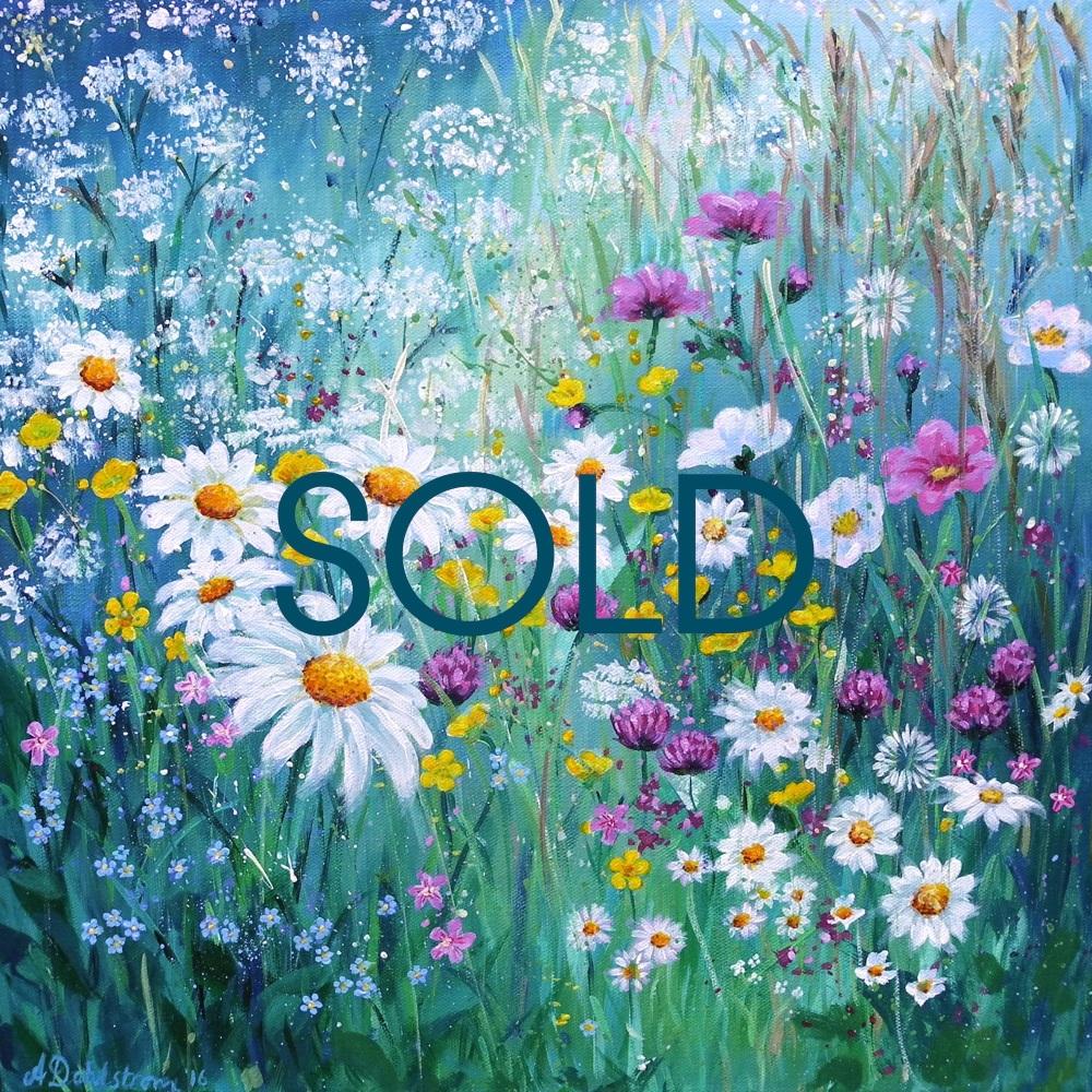 SOLD- Flowerscape No. 2