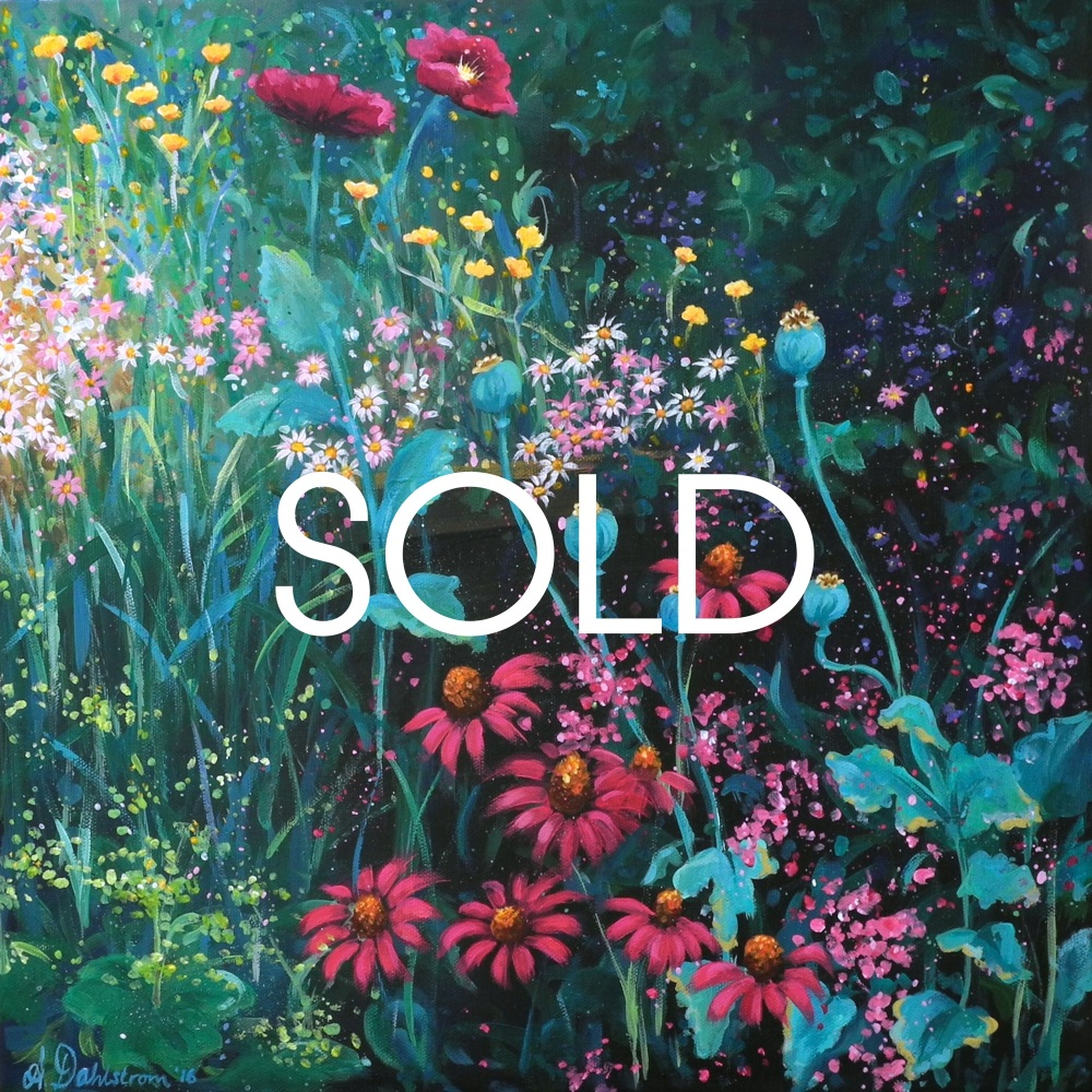 SOLD- Flowerscape No. 1