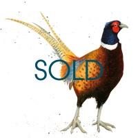 SOLD- Finest Pheasant Original Canvas
