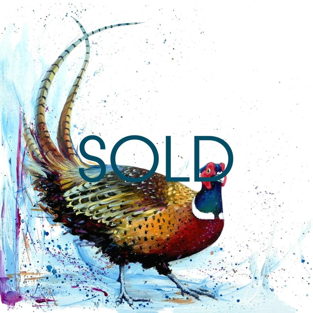 SOLD Geoff- Pheasant
