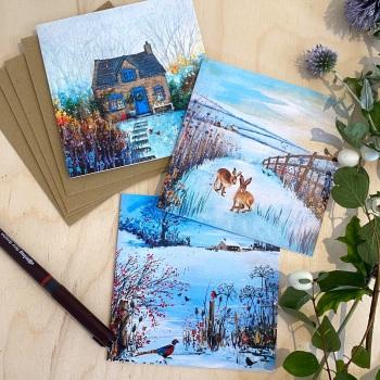 Multipack Seasonal Cards (6)