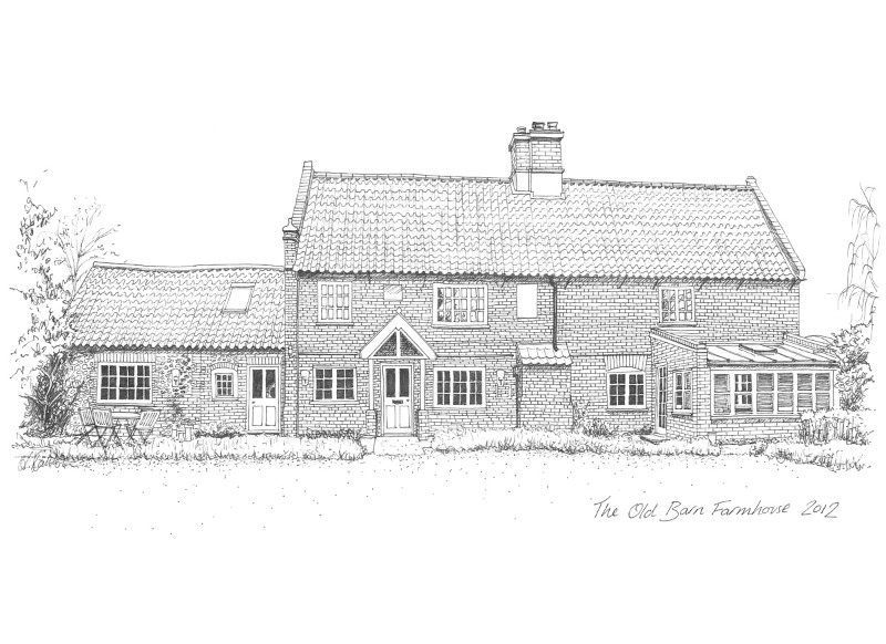 the old barn farmhouse-small
