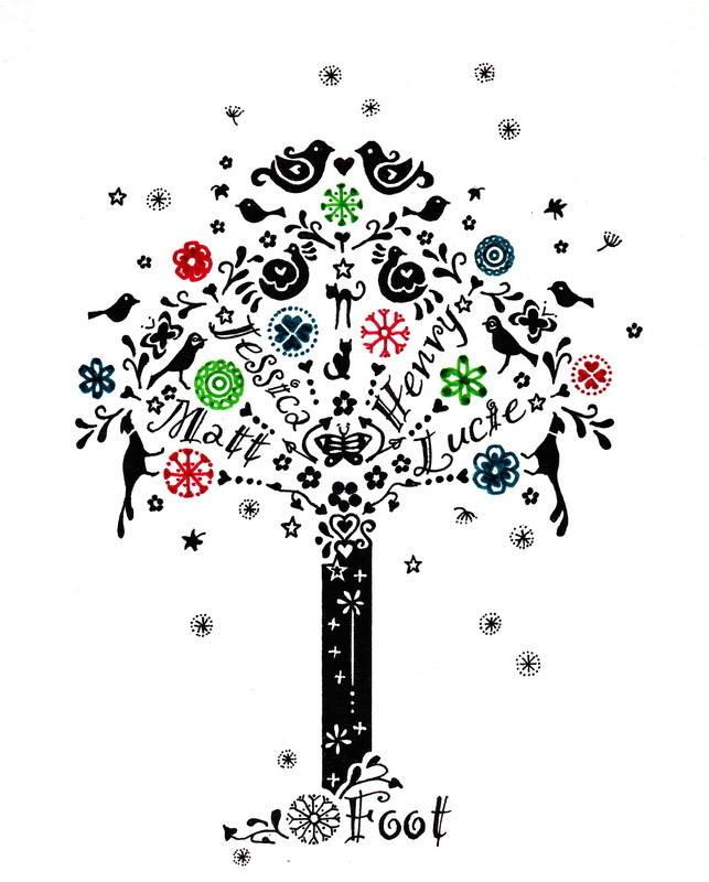 Foot tree 2