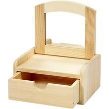 Dresser Mirror, 12x10x6,5 cm, pine