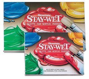 Daler Rowney StayWet Palette A4 Size