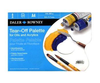 Daler Rowney Tear Off Palette A4