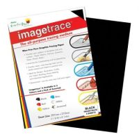Image Trace Graphite Transfer Paper A4 Black, 5 sheets