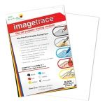 Image Trace Graphite Transfer Paper A4 Whte, 5 sheets