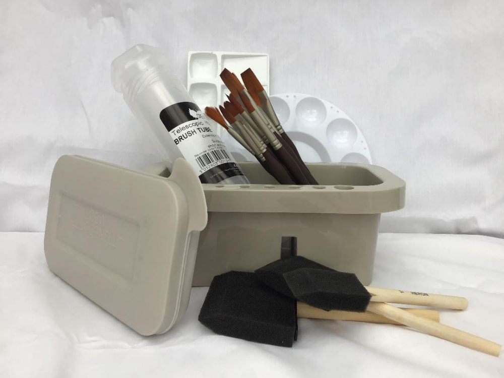 Paint Brushes and Accessories