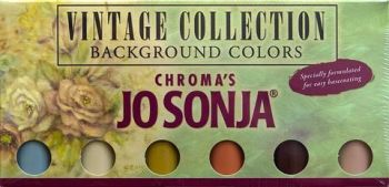 VINTAGE  - JO SONJA BACKGROUND COLOUR  SETS