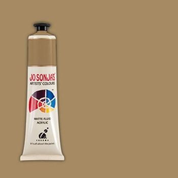 RICH GOLD - Jo Sonja 75ml Artist Quality Acryllic Paint - Metallics