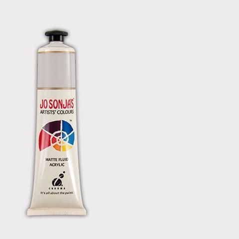 PEARL WHITE - Jo Sonja 75ml Artist Quality Acryllic Paint - Metallics