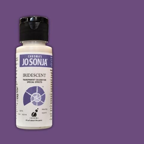 VIOLET - Jo Sonja 60ml Bottle Iridescent Acrylic Paint