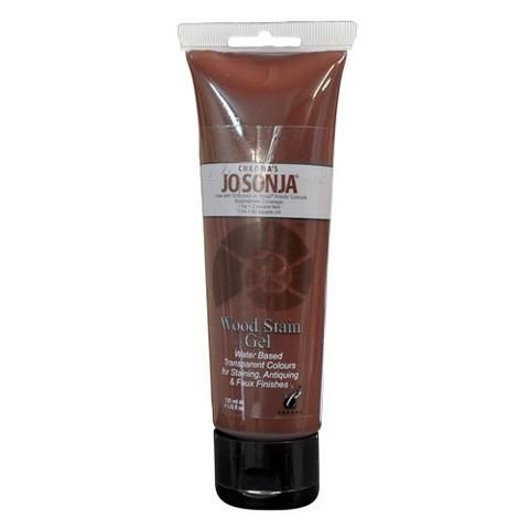 MAHOGANY - JO SONJA WOOD STAIN GEL 120ml TUBES